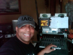 I took a selfy  lol! while i was mixing right before i rolled sound!